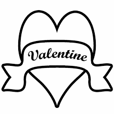 drawings of hearts with banners free download clip art free