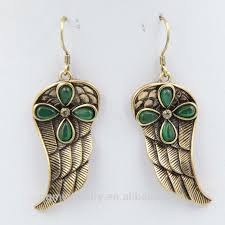 feather earrings for kids new design kids cc earring gold chain hanging earrings buy new