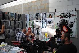sake tattoo booth london tattoo convention 2011 ebz perkins