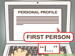 3 ways to write a personal profile outline wikihow