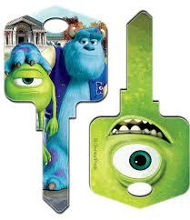 keysrcool buy mike u0026 sulley monsters disney house keys