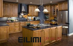 Maple Cabinet Kitchen Maple Kitchen Cabinet Cabinets Kitchen Blue Walls