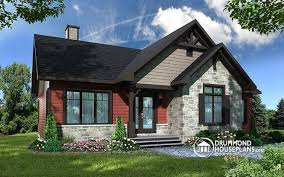 rustic open floor plans house plan w3154 detail from drummondhouseplans com