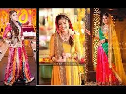 New Pakistani Bridal Dresses Collection 2017 Dresses Khazana Latest Pakistani Designer Mehndi Dresses 2017 For Brides Youtube