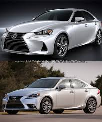 lexus new 2016 2016 lexus is vs 2014 lexus is old vs new