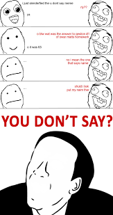 You No Say Meme - slenderfied you don t say meme 3 by oldschooi on deviantart