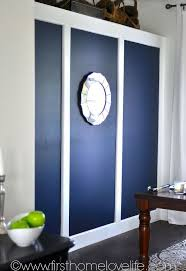 going bold navy blue dining room accent wall hometalk