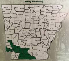 University Of Arkansas Map Arkansas Forestry Commission To Offer U201ckeep It In The Family