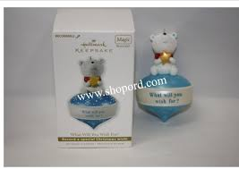 hallmark 2010 what will you wish for recordable ornament qxg3146