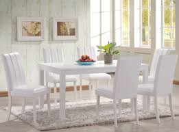 dining room round white dining room table amazing white dining