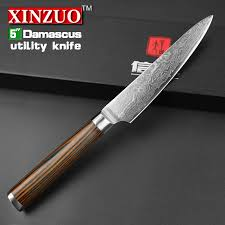 kitchen knives japanese aliexpress buy xinzuo 5 utility knife japanese vg10