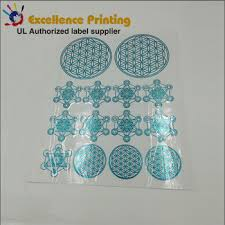 electroforming nickel custom design self adhesive electroforming nickel sticker label