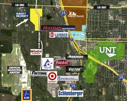 Map Of Denton County Location U0026 Maps West Gate Business Park