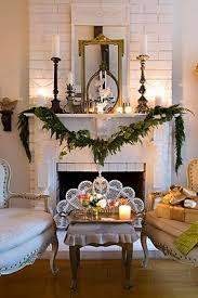 Modern Christmas Home Decor 490 Best Christmas Mantles Images On Pinterest Christmas Ideas