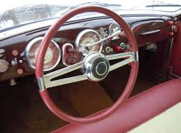 Steering Wheel Upholstery Another Michelotti Job 1949 Fiat 1100 E U201cgioiello U201d By Ghia