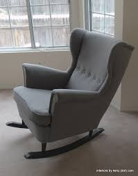 Ikea Gaming Chair Ikea Hack Strandmon Rocker Diy Wingback Rocking Chair