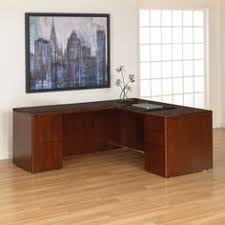 72 x 36 desk ofd studio series radius edge bow top desk shell cherry more