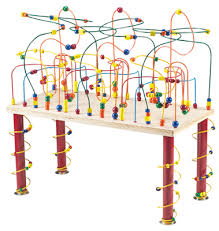 wooden bead toy table this is the perfect activity bead table for large groups of children