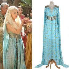khaleesi costume of thrones daenerys targaryen costume dress qarth gown got