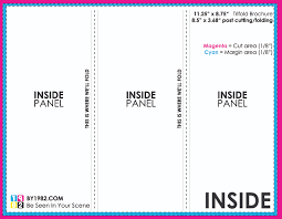 2 fold brochure template psd tri fold menu printing fieldstation co