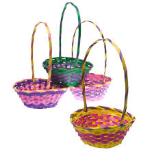 easter basket 11 bamboo easter basket toys