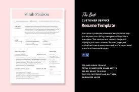 resume template customer service 22 best customer service representative resume templates wisestep