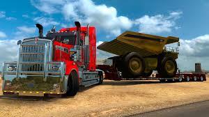 kenworth t900 australia ats kenworth t908 con camión gigante caterpillar poder