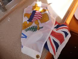 Us Virgin Island Flag Big Sail U2013 Sailing Genevieve U2026