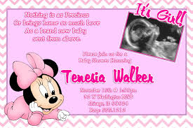 minnie mouse baby shower invitations and wording tips home decor