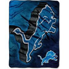 nfl lions 60x80 micro raschel blanket walmart com