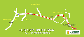 antipolo map camella antipolo philippines house lot for sale in antipolo city