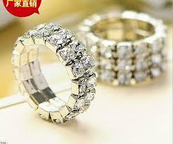 bridal fashion rings images 100 pcs women girl rhinestone band rings wedding bridal fashion jpg