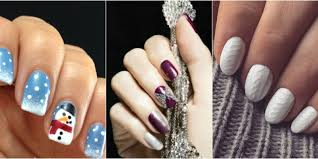 winter design nails images nail art designs