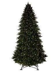 7 5 foot pre lit deluxe artificial tree with memory wire