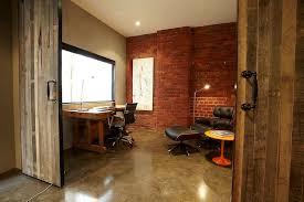 warehouse style home design design ideas beach style home office with sliding barn doors