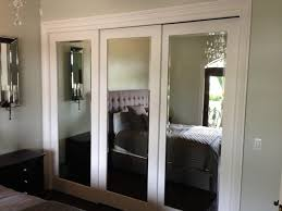 Impact Plus Closet Doors Impact Plus In Beveled Edge Backed Ideas And Sliding Mirror Closet