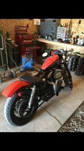 orange nightster motorcycles for sale