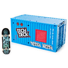 Tech Deck Ramps Tech Deck Transforming Sk8 Container With Ramp Set And Skateboard
