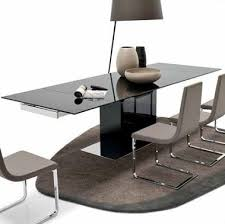 Black Glass Extending Dining Table Calligaris Park Glass Extendable Dining Table Cs 4039 Gr Dining