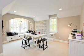 furniture beautiful home office design with craft table and