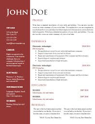 free resume in word format word document resume format 78 images resume template