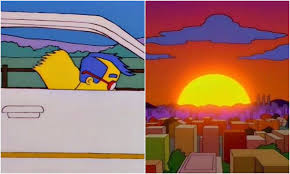 Bart Simpson Meme - scenic simpsons instagram is here to prove the show is beautiful