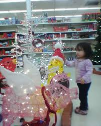 white trees with lights kmart light photo gallery