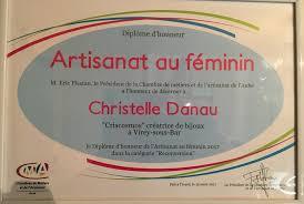 chambre des metiers de l aube diplôme d honneur artisanat au féminin criscosmos