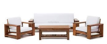 WS  Comfortable Sofa Set In Teakwood Details BIC Furniture India - Teak wood sofa sets