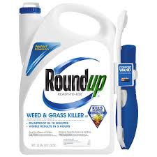 roundup weed u0026 grass killer iii wand comfort wand ready to use