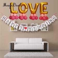 online shop romantic happy wedding hanging banner garland