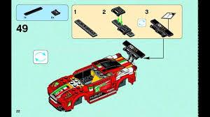 Ferrari 458 Manual - lego speed champions 2015 ferrari 458 italia gt2 instructions