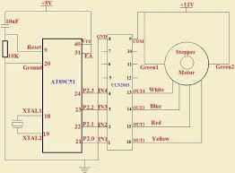 stepper motor control units using atmega avr microcontroller