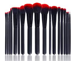 Professional Makeup Artist Supplies Msq 18pcs High End Makeup Artist Synthetic Hair Brushes Wtih Belt